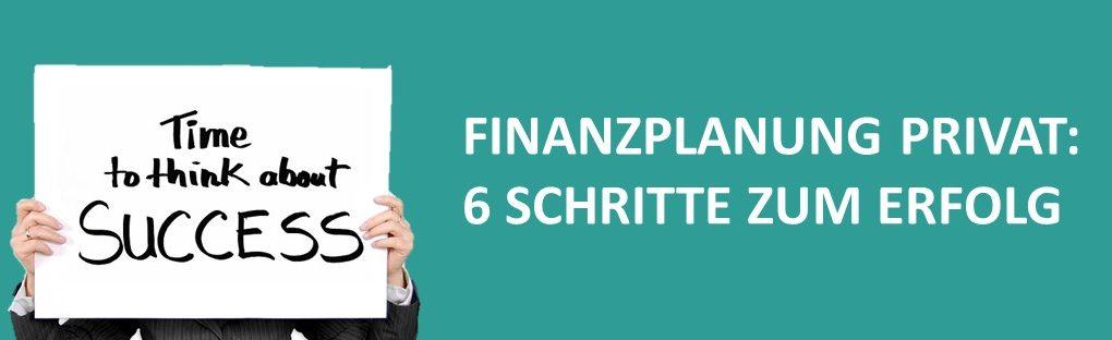 Finanzplanung privat